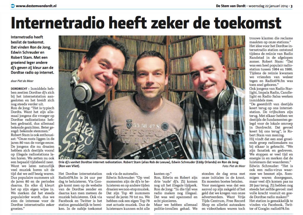 Radio078StemVanDordt